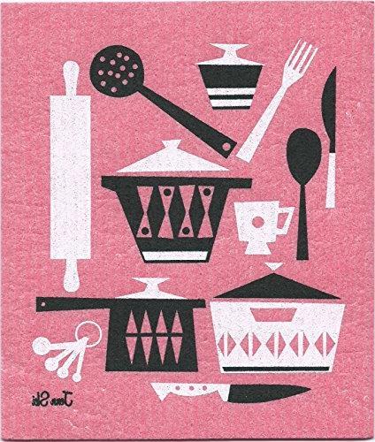 Swedish Kitchen Utensil Set of Colors