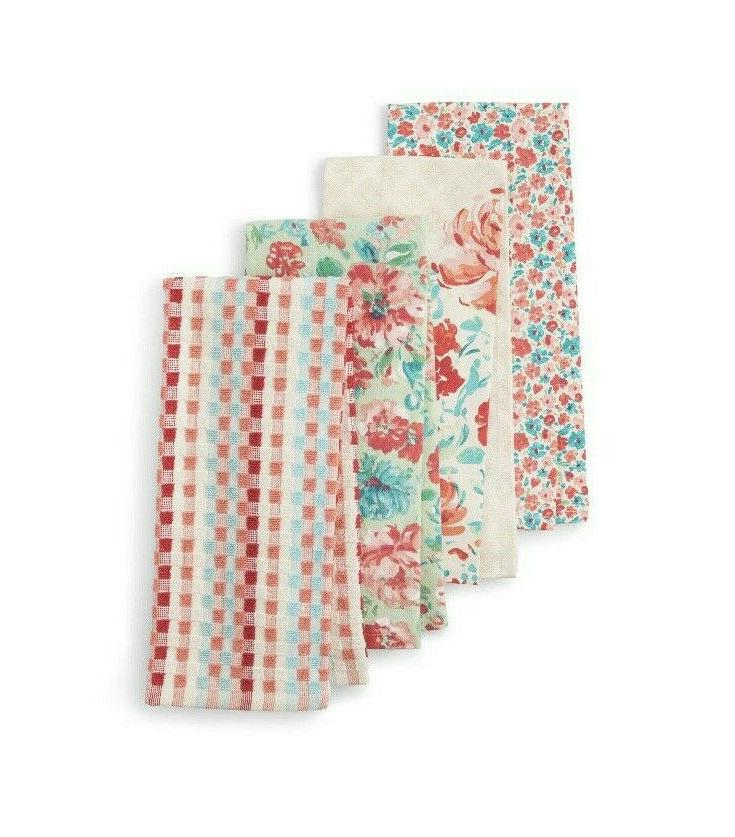 the pioneer woman towels bar towels set