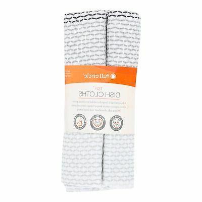 tidy organic dish cloths grayscale