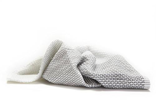 Full Tidy Dish Cloths Set 3, Grayscale