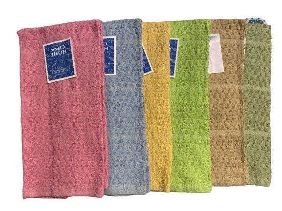 Kitchen Towel 12 Pcs 15x25 Cotton Kitchen Hand Towel Dish Towel