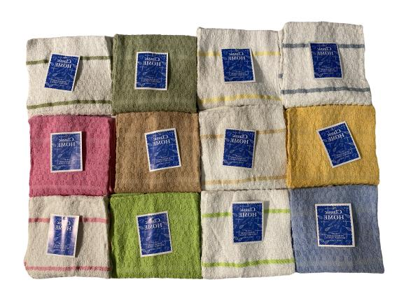 towel 12 pcs 15x25 100 percent cotton