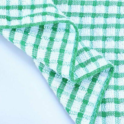 Kitchen Dish Cloths Pack Scrubbing Wash Rags,12x12 Inc