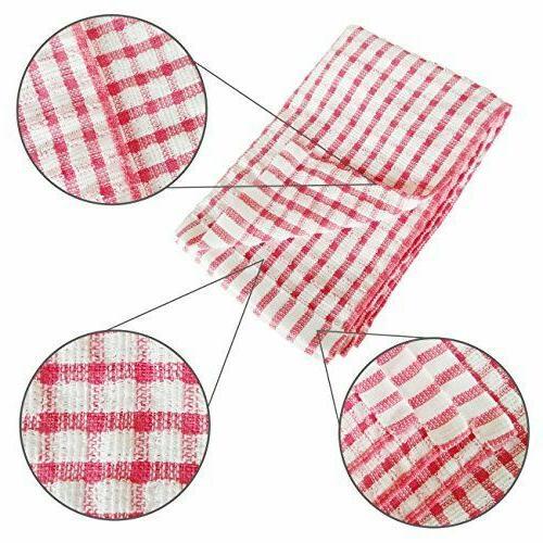 Kitchen Dish Pack DishCloths Scrubbing Wash Rags,12x12 Inc