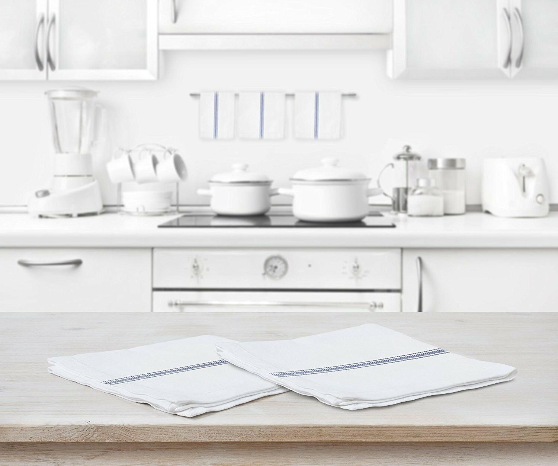 towels classic white kitchen 100 natural cotton