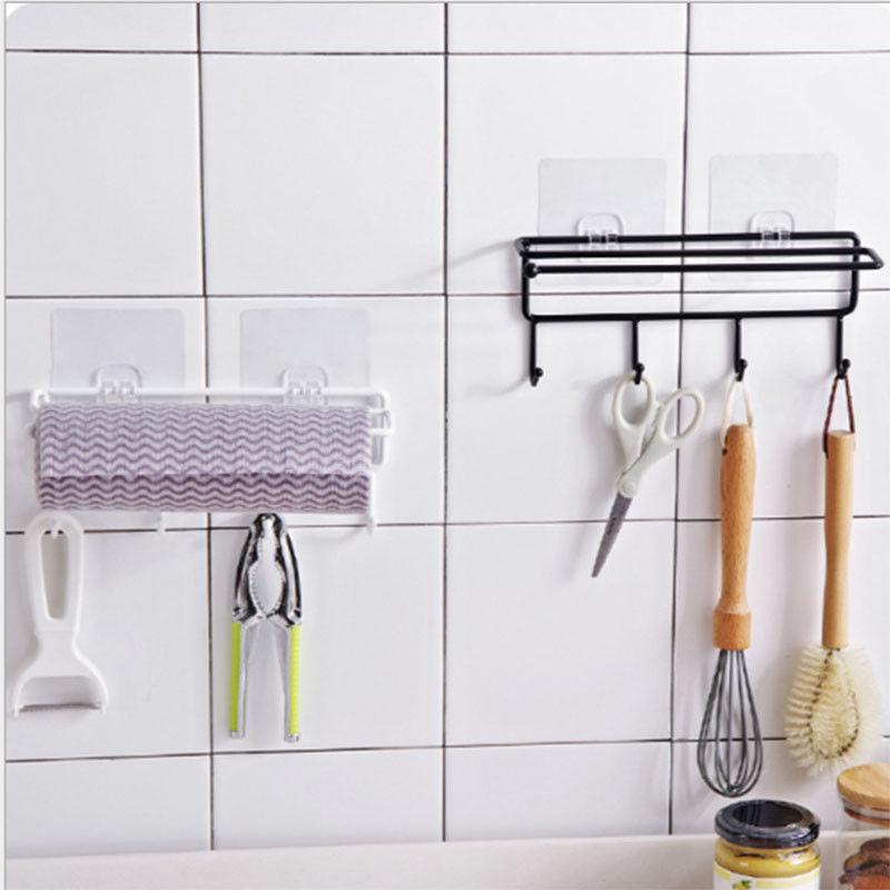 Towels Wall Mounted Rail Rack Kitchen