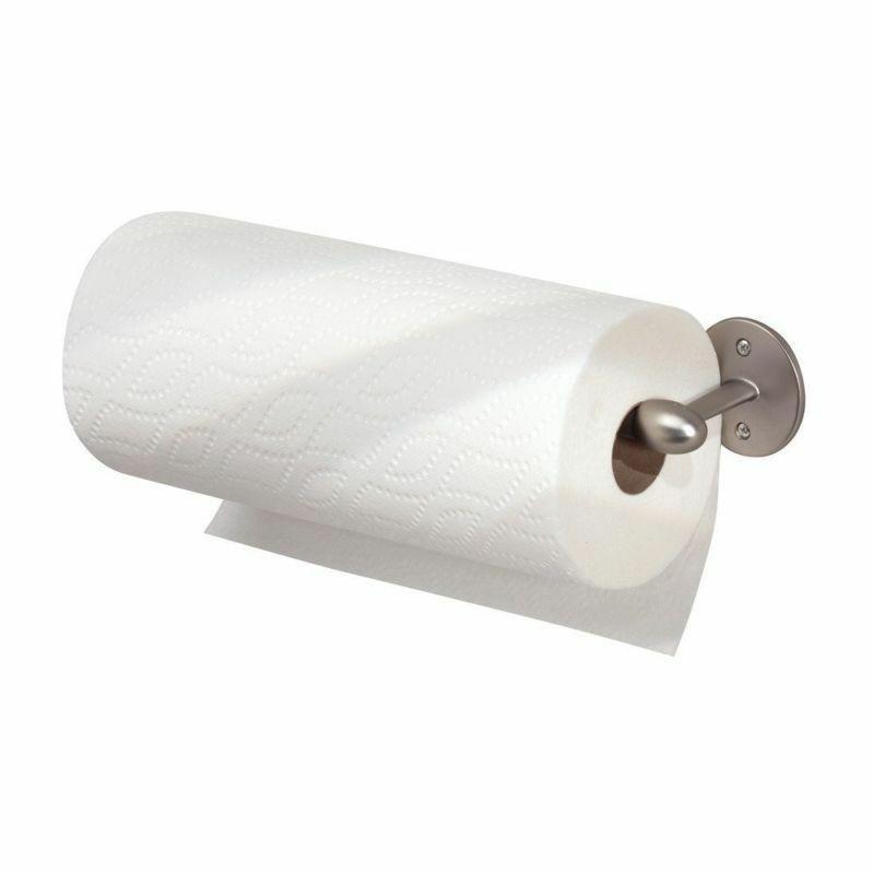 Under Cabinet Paper Holder Paper Roll Satin