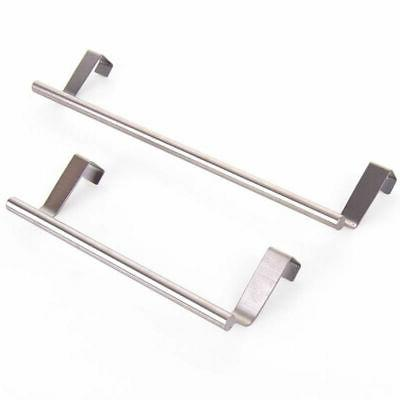US Towel Hook Stainless Steel Seamless Cabinet Rack Kitchen
