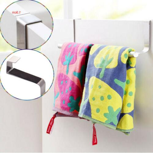 US Towel Hook Stainless Seamless Rack Kitchen