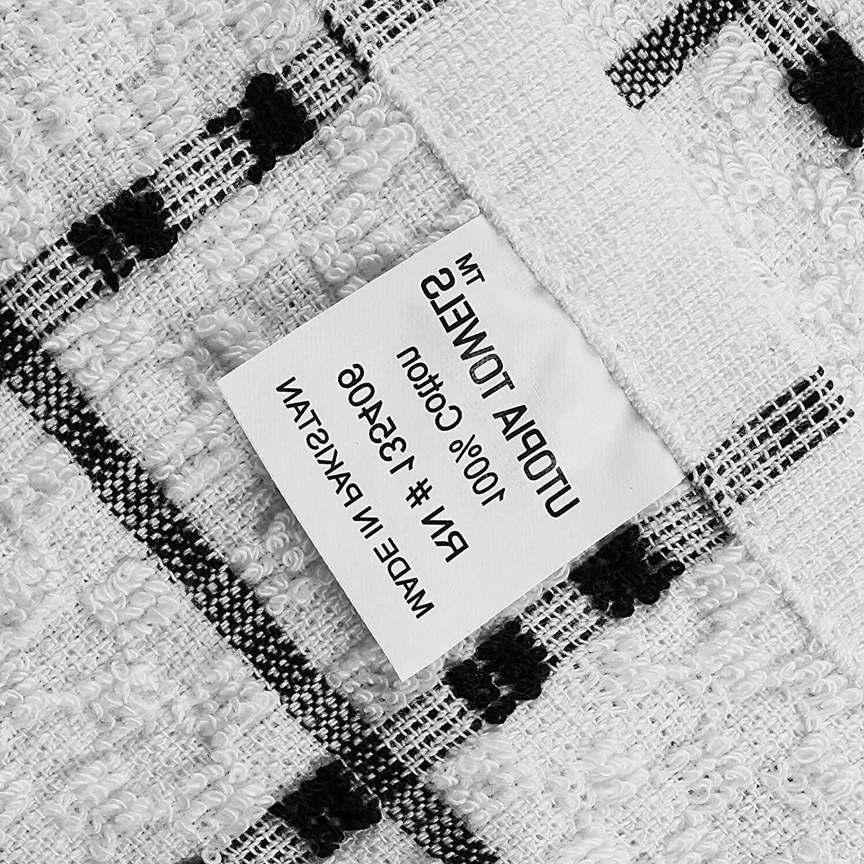 x 25 Cotton Dish Towels, Tea ,Bar