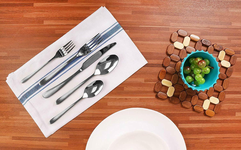 """Utopia Kitchen 12 Pack,15"""" x 25"""" Cotton"""