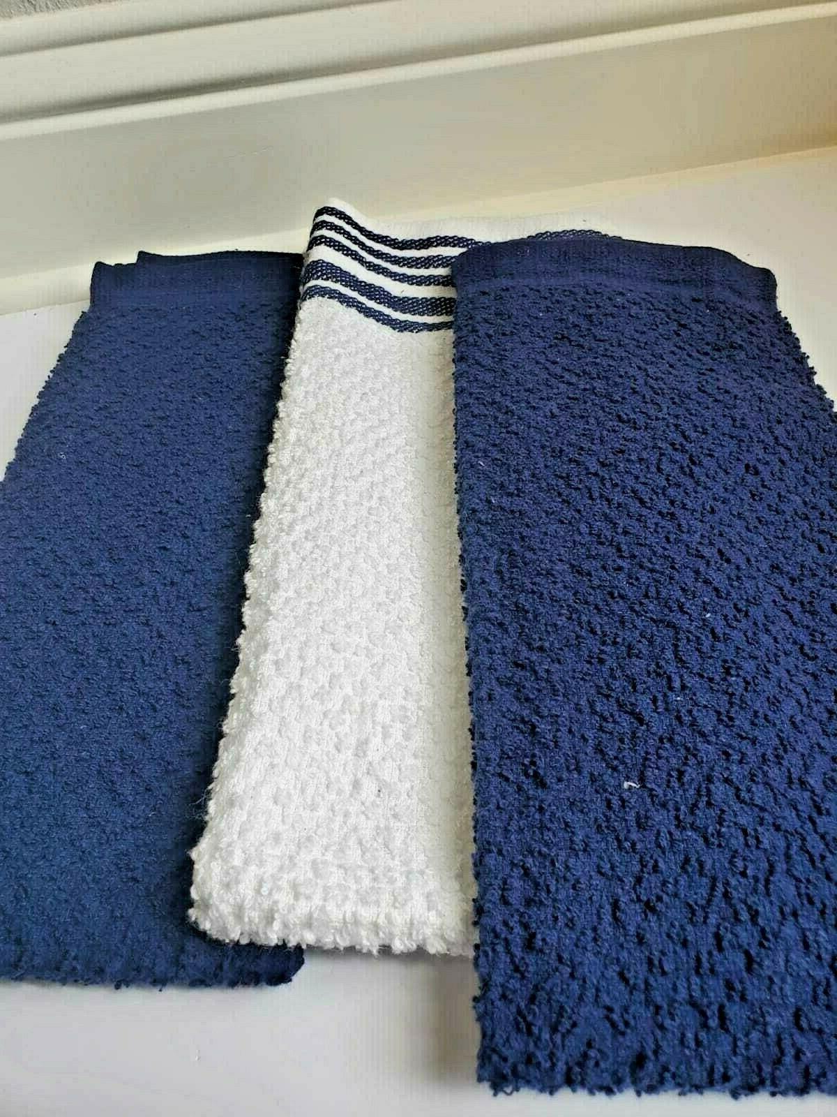 """Value Pack Kitchen Towels 100% Cotton 16"""""""