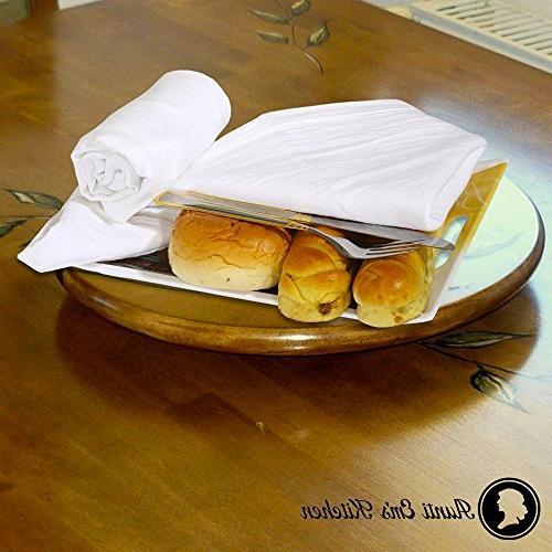Aunti Em's Flour Sack Kitchen Towels, Restaurant Cotton, Baker's Set
