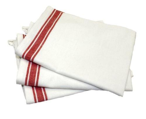 vintage stripe cotton towel