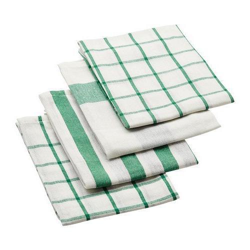 IKEA ELLY White & Blue Dish Towels
