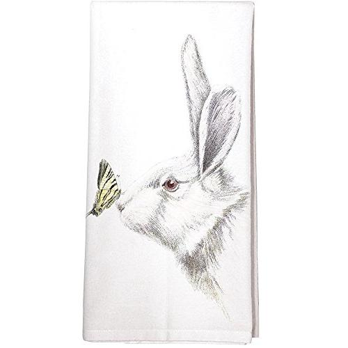 Montgomery Street Bunny and Chick Cotton Flour Sack Dish Towel