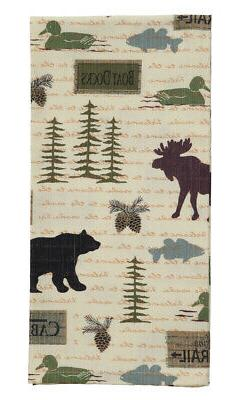 Wilderness Dishtowel - Country Farmhouse Kitchen Dish Towels