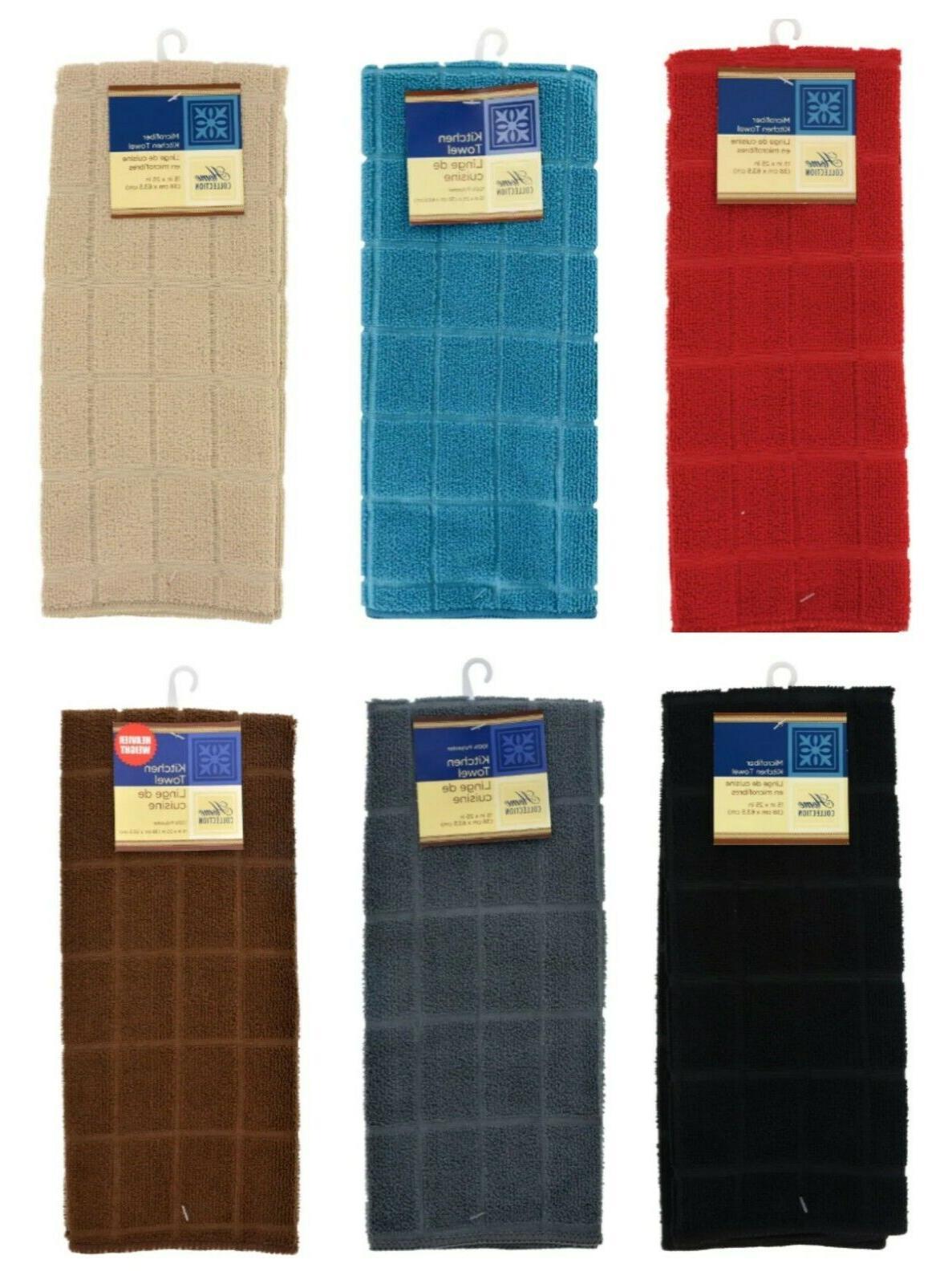 windowpane pattern kitchen towels 15x25 in variety
