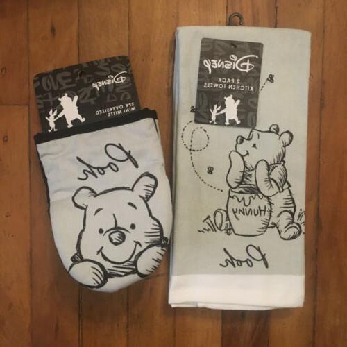 winnie the pooh 2 pack hand towels