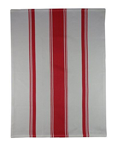 Cotton Pack Wrinkle Resistant Superior Finish - 100% Cotton Twill Stripe - Kitchen - Easy