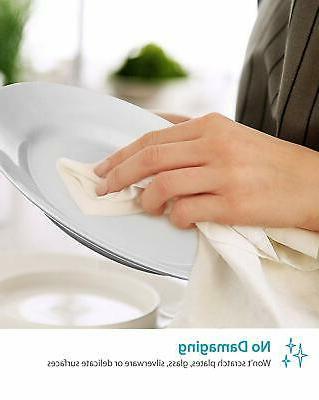 "Zeppoli Flour Towels - x 31"" Kitchen Absorbe"