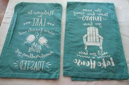 Kay Dee Designs Lake House Friends Kitchen Towels Set Flour