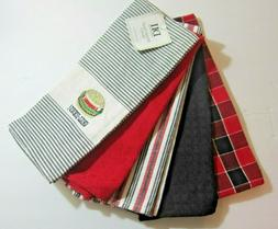 DII Le Gourmet Chef Barbeque Dishtowel Set of 5 Kitchen Towe