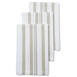Sur La Table Linen Striped Dishcloths 6107515 SDL, Set of 3