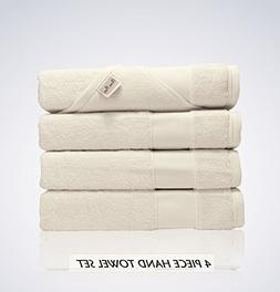 Lint Free 4 Piece Turkish Hand Towel Set Clearance Prime Kit