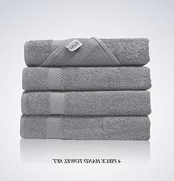 Lint Free 4 Piece Turkish Hand Towel Set Clearance Prime Kit