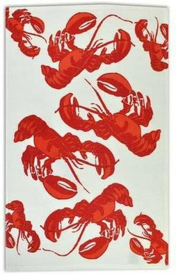 Lobster Flour Sack Dish Towel Kitchen New Cotton 18 Inch by