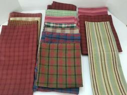 Lot of 14 Indo Brand UnUsed Cotton Kitchen Tea Dish Towels-C