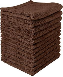 Utopia Towels Luxury Cotton 600 GSM Washcloths - 12 Pack, Da