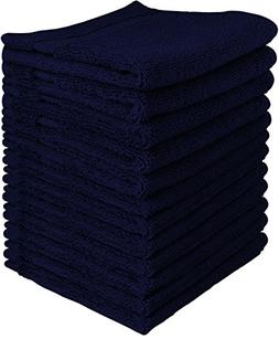 Utopia Towels Luxury Cotton 600 GSM Washcloths - 12 Pack, Na