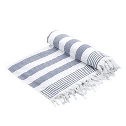 Cottonna 100% Luxury Turkish Cotton Oversized Beach Blanket,