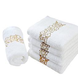 6PCS Hand Towels ,  Bathroom Fingertip Guest Towel Set ,  De