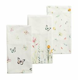 Maison d' Hermine Botanical Fresh 100% Cotton Set of 3 Kitch