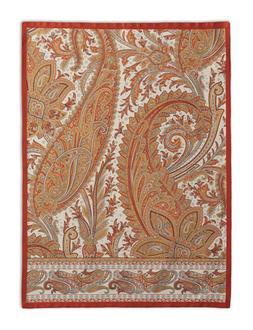 Maison d' Hermine Kashmir Paisley 100% Cotton Set of 2 Kitch