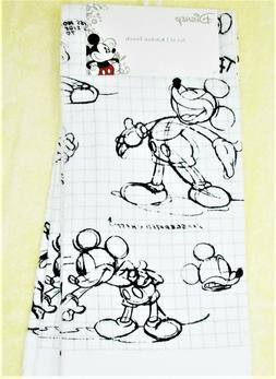 """Mickey Mouse Kitchen Towels Set of 2 dish hand 18"""" x 28"""""""