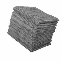 Gryeer Microfiber Kitchen Towels - Super Absorbent Dish Towe