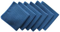 Sinland Microfiber Waffle Weave Dishcloths Cleaning Cloths 6