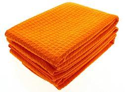 Mia'sDream Microfiber Waffle Weave Kitchen Thick Towels Dish