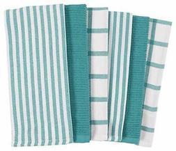 KAF Home Mixed Flat & Terry Kitchen Towels | Set of 6 18