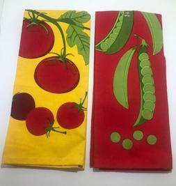 DII Moxies Mayhem Kitchen Dish Towels Set Of 2 Tomatoes And