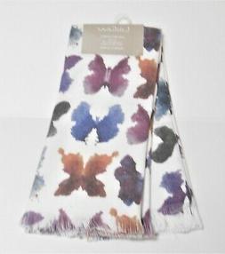 Ladinne Multi-Color Butterflies Set of 2 Kitchen Oversized T