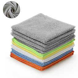 Multi-Function Microfiber Cleaning Cloths - 12Pack   Absorbe