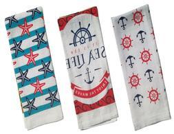 NAUTICAL & BEACH SEA THEME KITCHEN TOWELS HAND TOWELS