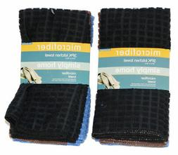 new 6 pack microfiber kitchen towels 16