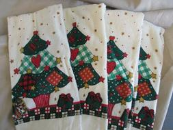 NEW  Christmas Kitchen Towels Tea Hand Dish Towels Terry Cot