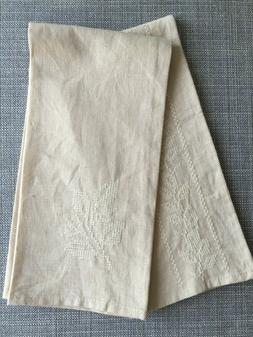 new dish towels set of 2 beige